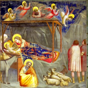 Christ, Christmas, birth, painting, Jesus, Fresco, virgin, Mary, nativity
