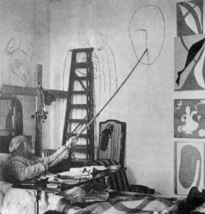 Matisse (1869-1954) Photo: Matisse's Last Studio
