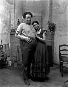 Diego Rivera and Frida Kahlo Photograph c.1930