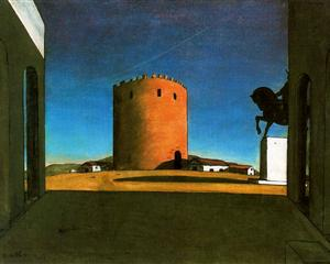 The Red Tower, 1913 Giorgio de Chirico
