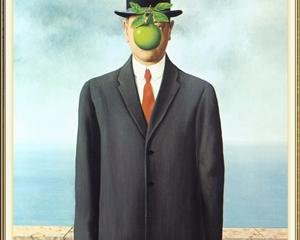 The Son of Man, 1964 Rene Magritte