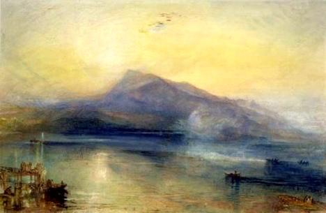 TheDarkRigi, 1842  Watercolor on paper  J.M.W. Turner