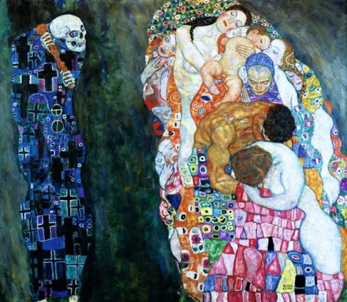 Death and Life, 1916 Gustav Klimt Leopold Museum, Austria