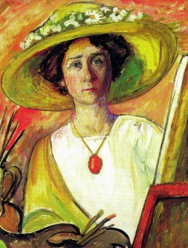 Munter_Self-Portrait,1909