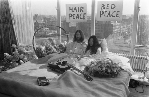 Bed-In for Peace, Amsterdam 1969 John Lennon and Yoko Ono