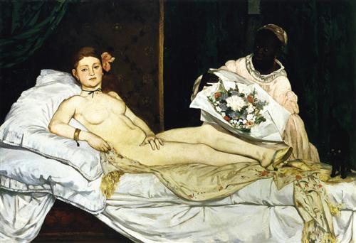 Olympia, Édouard Manet, 1863