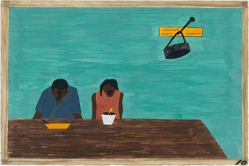 """They were very poor."" Jacob Lawrence"