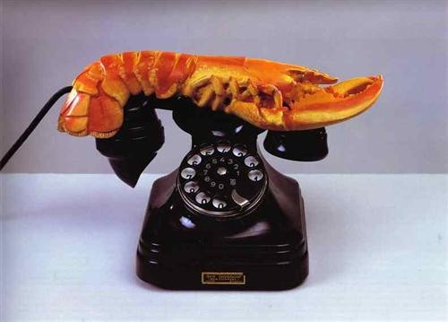 Lobster Telephone, 1936 Dali, plastic, painted plaster, and mixed media Tate Museum, London