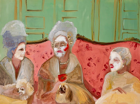 Ladies Chatting, Genieve Figgis, 2013