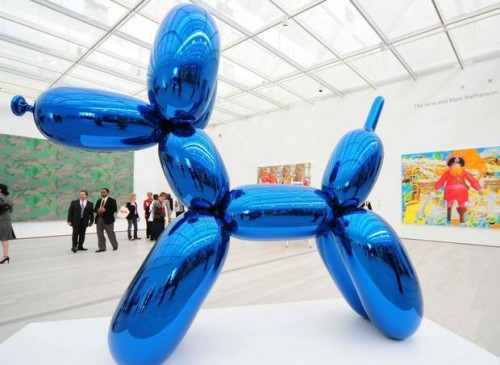Balloon Dog (Blue) 1994-2000 Jeff Koons