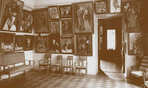 The study in Sergei Shchukin's house. Photograph: Heritage Images/Getty Images