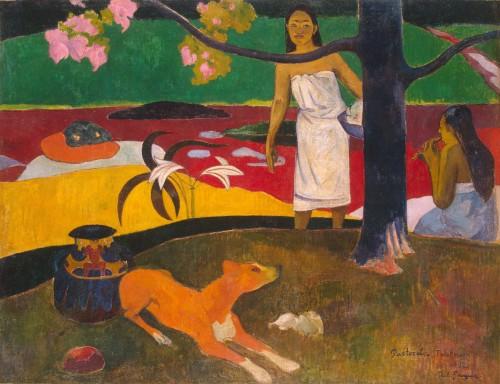Pastorales Tahitiennes, 1892 Paul Gauguin Hermitage Museum, Russia