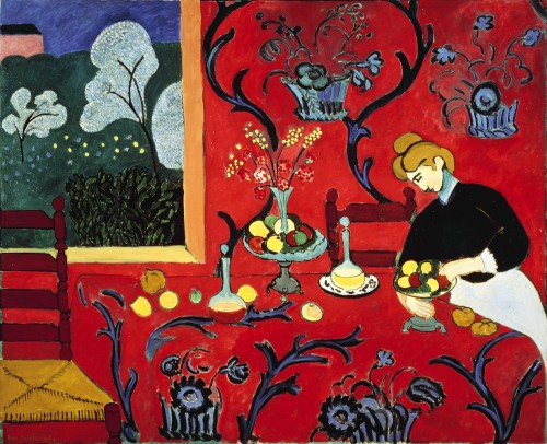 The Red Room, 1908 Henri Matisse The Hermitage Museum, Paris