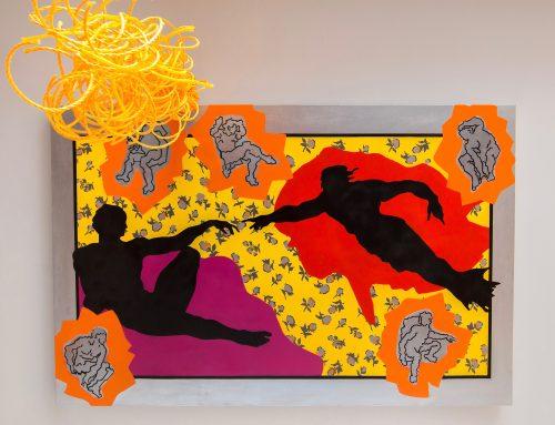 Sistine Pop 2! (ceiling painting)
