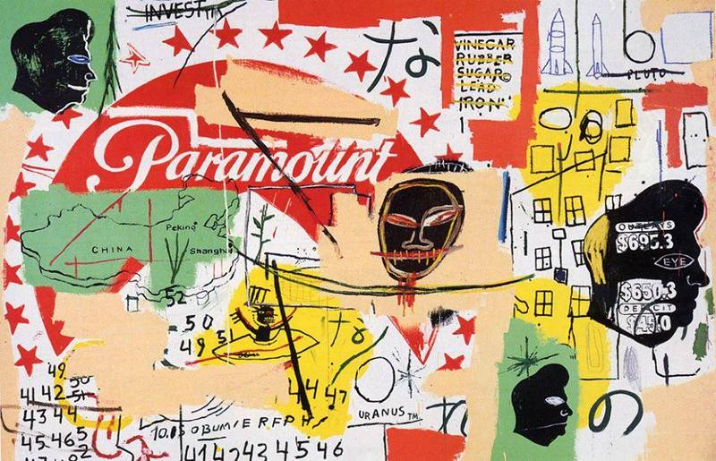 Paramount, 1985 Andy Warhol and Jean-Michel Basquiat