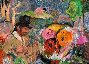 """Homage to Manet. Le Déjeuner sur l'Herbe, 36x52"""""""