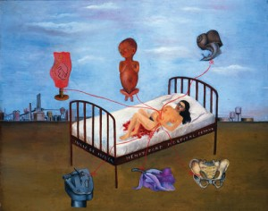 Henry Ford Hospital, 1932 Frida Kahlo