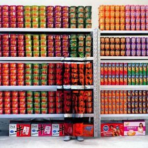 Hiding in the City No. 83 - Supermarket, 2009  Liu Bolin