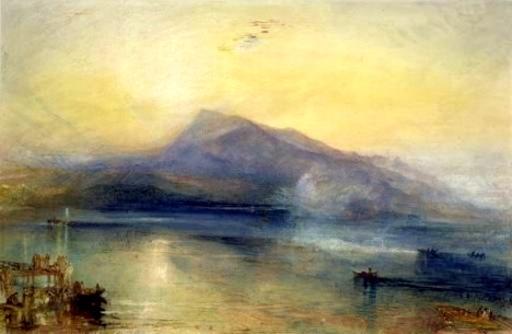 TheDarkRigi, 1842  Watercolor on paper  J.M.W. Turner