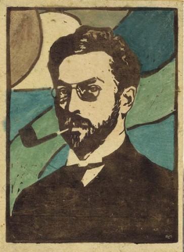 Portrait of Wassily Kandinsky, 1906 Gabriele Munter