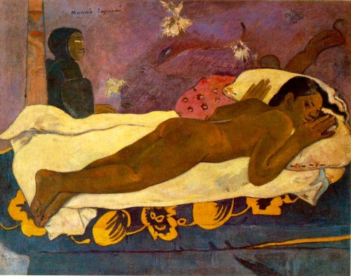 """Spirit of the Dead Watching"", 1892 Gauguin (1848-1903)"