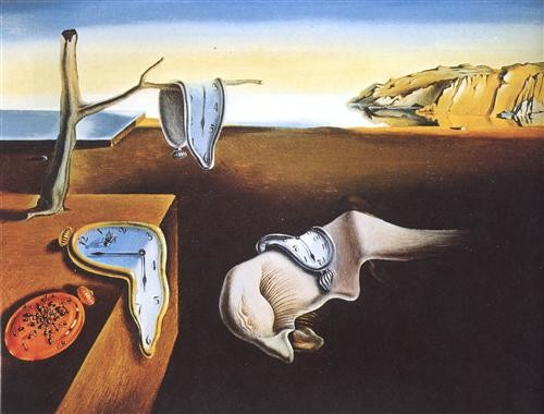 The Persistence of Memory, 1931 Salvador Dali MOMA, New York City