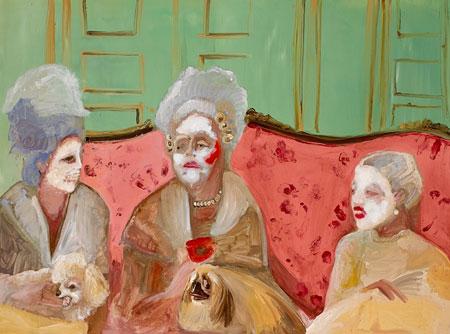 Ladies Chatting, Genieve Figgis, 2013