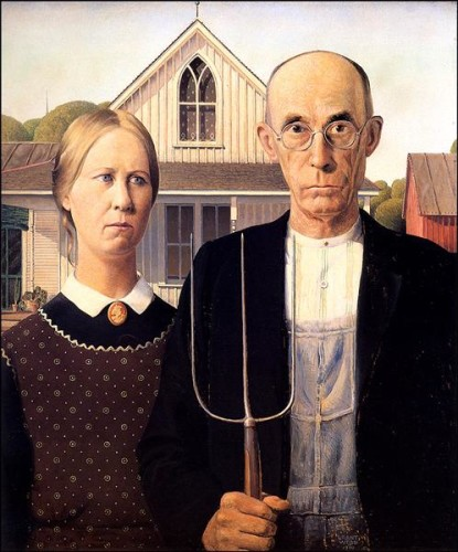 American Gothic, 1930 Grant Wood