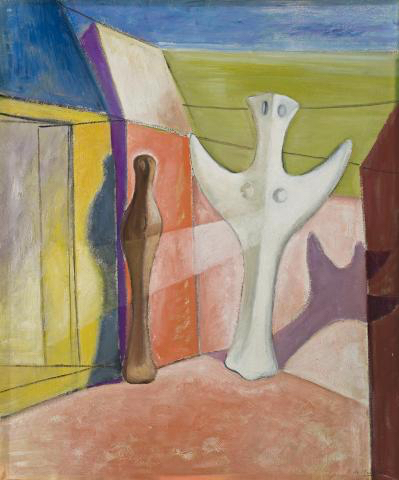 Annunciation, 1934, Roy de Maistre, Private collection, Switzerland