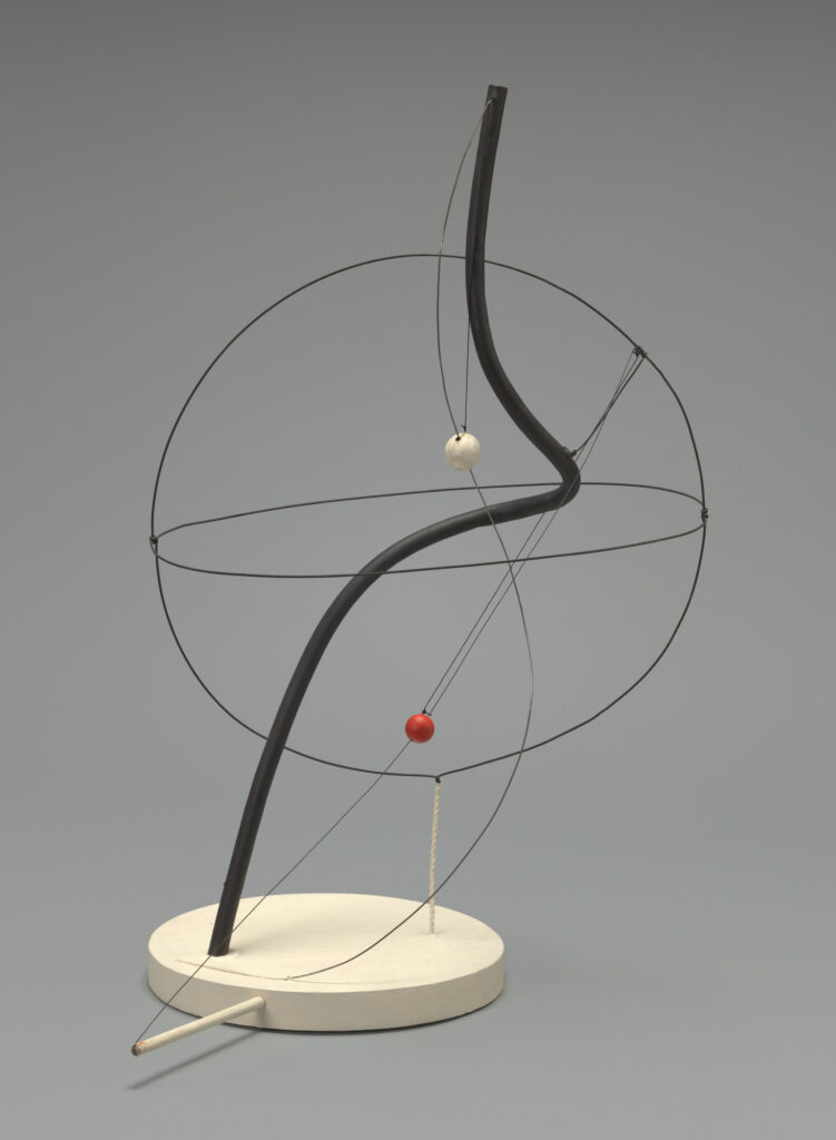 A Universe, 1934 Alexander Calder The Museum of Modern Art New York