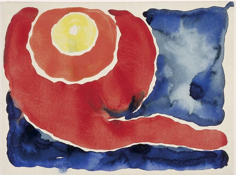 Evening Star No. V, 1917 Georgia O'Keeffe McNay Art Museum San Antonio Texas