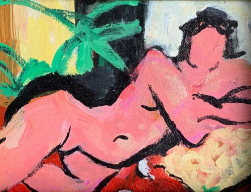 Nude, Homage to Matisse